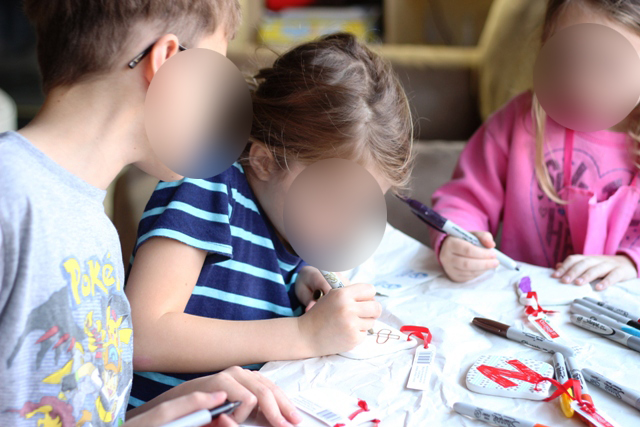 crafting with children